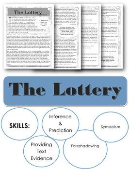 The Lottery by Shirley Jackson ELA Sub Plans