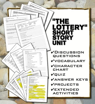 """The Lottery"" by Shirley Jackson Unit with Hunger Games Comparison"