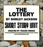 """""""The Lottery"""" by Shirley Jackson Unit with Hunger Games Comparison"""