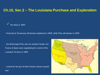 The Louisiana Purchase & Exploration