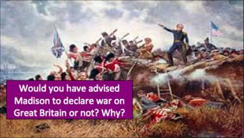 The Louisiana Purchase & War of 1812 (LP + Docs + PPT + Chart)