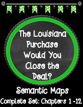 The Louisiana Purchase Would You Close the Deal? Complete Set of Semantic Maps