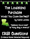 The Louisiana Purchase Would You Close the Deal? EBSR Comp