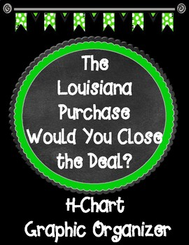 The Louisiana Purchase Would You Close the Deal? H-Chart Graphic Organizer