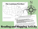 The Louisiana Purchase and Lewis & Clark Mapping Activity