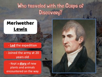 Louisiana Territory, Corps of Discovery, Lewis & Clark, Sacagawea, Guided Notes!
