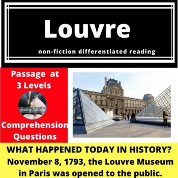 The Louvre Differentiated Reading Passage, November 8