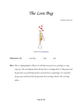 The Love Bug - Small Group Rhyming Reader's Theater