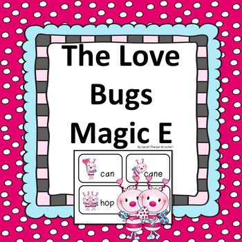 Silent E Love Bugs and Magic e! Valentine's Day Literacy Center