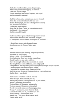 The Love Song of J. Alfred Prufrock and Other Poems by T. S. Eliot