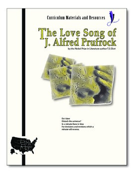 """""""The Love Song of J. Alfred Prufrock""""editable, AP Style,Te"""