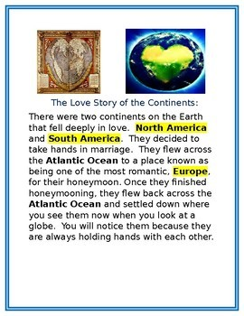 Continents Love Story