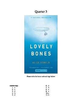 The Lovely Bones Reading Test