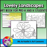 Landscape Art Book, Art Lessons
