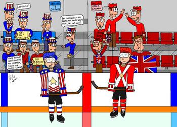 Canadian History Cartoon - The Loyalist Migration
