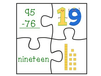 The Luck of Subtraction (Subtraction with regrouping center set)