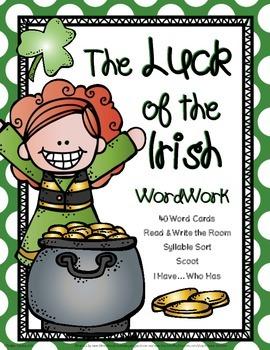 The Luck of the Irish: Word Work