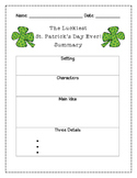 The Luckiest St. Patrick's Day Ever! Summary Graphic Organizer