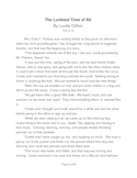 """""""The Luckiest Time"""" Short Story ReWrite"""