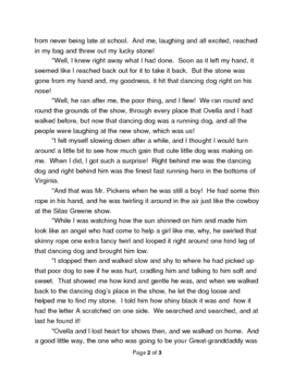 """The Luckiest Time"" Short Story ReWrite"