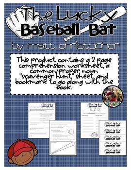 The Lucky Baseball Bat by Matt Christopher
