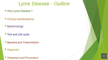 The Lyme disease Tick and Its Life Cycle