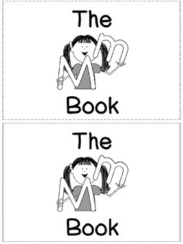 The M Book - Little Sight Word Reader