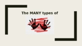 The MANY Types of ABUSE