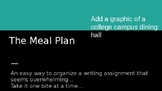 The MEAL Plan - How to Write Research Papers the Easy Way