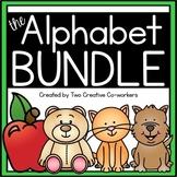The Alphabet MEGA BUNDLE  {includes worksheets & printable