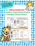 The (MEGA BUNDLED) Weather Dog Activity Packet K Reading C