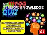 The MEGA General Knowledge Pub Quiz #1 (50 Questions) Sett