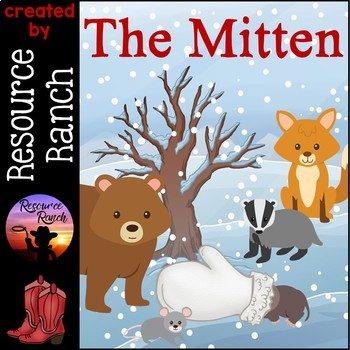 The Mitten Activities and Printables