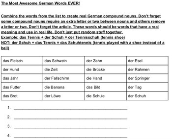 The MOST Awesome German Words EVER!