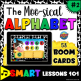 The MUSICAL ALPHABET 2 Boom Cards™ Music Game Fun Music Activity