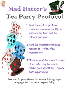 The Mad Hatter's Tea Party Protocol