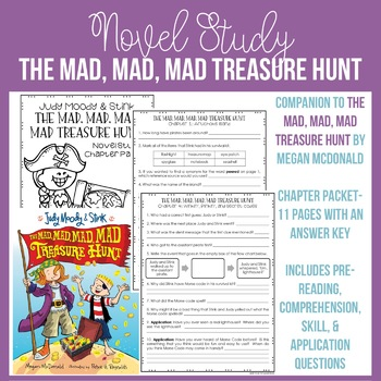 The Mad, Mad, Mad Treasure Hunt Chapter Packet