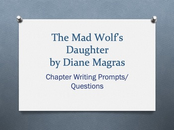 The Mad Wolf's Daughter, by Diane Magras  -  Chapter Questions/Prompts