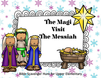 The Magi Visit the Messiah Scavenger Hunt