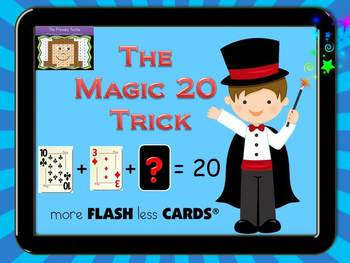 The Magic 20 Trick - more FLASH less CARDS