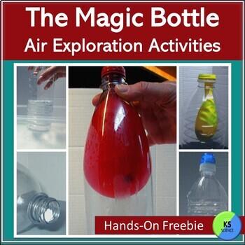 Air Pressure Exploration:  Make a Magic Bottle