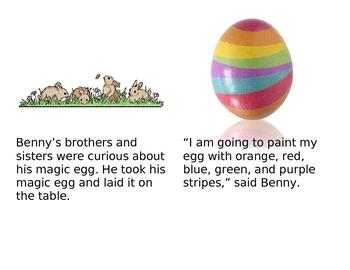 The Magic Egg Emergent Reader