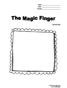 The Magic Finger Booklet