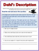The Magic Finger Comprehension Activities Booklet (For Grades K-3)