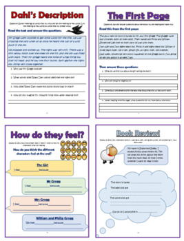 The Magic Finger Comprehension Activities Booklet!