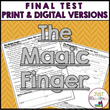 The Magic Finger Final Test