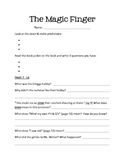 """""""The Magic Finger"""" Guided Reading Unit"""
