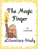 The Magic Finger Literature Study (TRIAL): Test, Vocabulary, Printables, MORE!