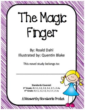 The Magic Finger Novel Study / Key