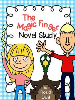 Roald dahl teaching resources teachers pay teachers the magic finger novel study roald dahl comprehension questions test fandeluxe Image collections